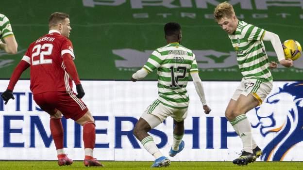 Celtic 1-1 Aberdeen: Penalti call irks Dons bos Derek McInnes thumbnail