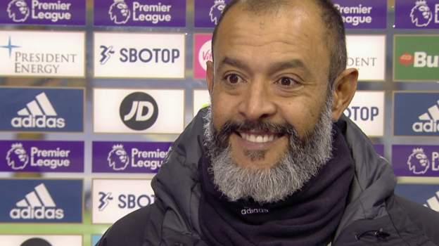 Leeds United 0-1 Wolverhampton Wanderers: Nuno Espirito Santo pleased with Wolves' second-half display
