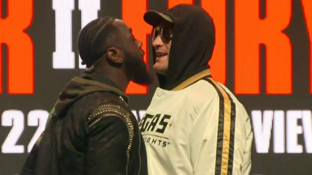 Watch: Wilder and Fury face off in fiery final news conference thumbnail