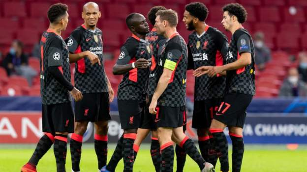 Ajax 0-1 Liverpool: Own goal gives injury-hit Reds victory - bbc