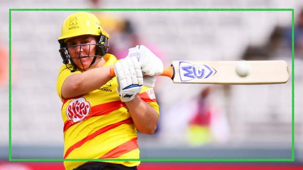 The Hundred: Trent Rockets beat London Spirit for first win in women's competition