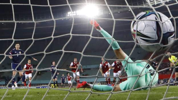 Austria 0-1 Scotland: 'Mood shifts with World Cup destiny in Steve Clarke's side's hands' - BBC Sport