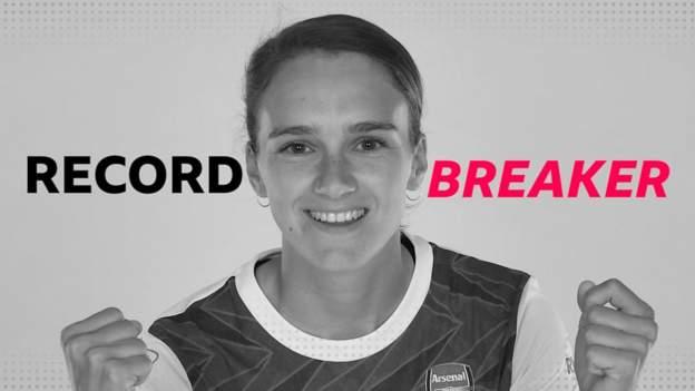 Vivianne Miedema: Arsenal striker breaks WSL all-time scoring record