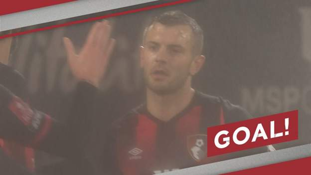 FA Cup: Jack Wilshere curls Bournemouth into lead against Bournemouth - bbc