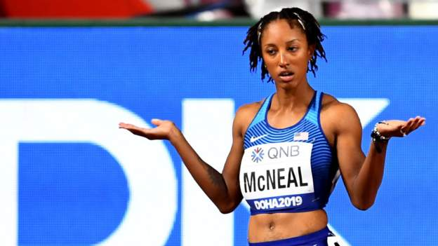 Brianna McNeal: Olympic champion has five-year drugs ban upheld