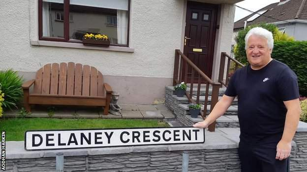 Derry City & Strabane Council now plan to correct the spelling of the street named after the Irish Olympic great