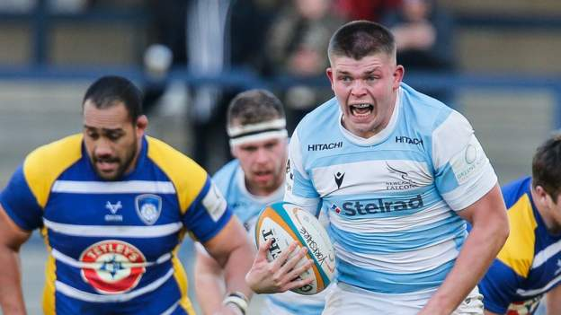 Jamie Blamire: Newcastle Falcons hooker signs new three-year deal