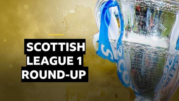 Cove beat Falkirk to go joint top of League 1