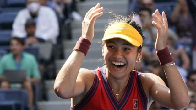 US Open: Emma Raducanu reaches semi-finals by beating Belinda Bencic