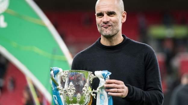 Carabao Cup final: Aston Villa 1-2 Manchester City: Man City silverware tally 'remarkable' thumbnail