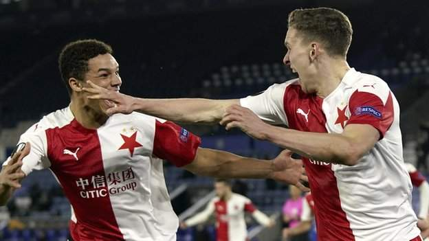 Leicester City 0-2 Slavia Prague: Foxes shocked by Czech visitors