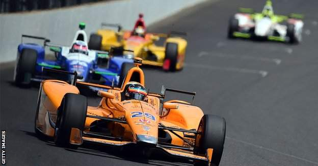 Alonso leading
