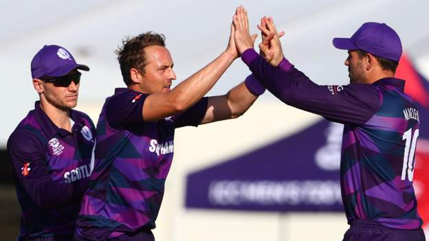 Scotland beat PNG in T20 World Cup