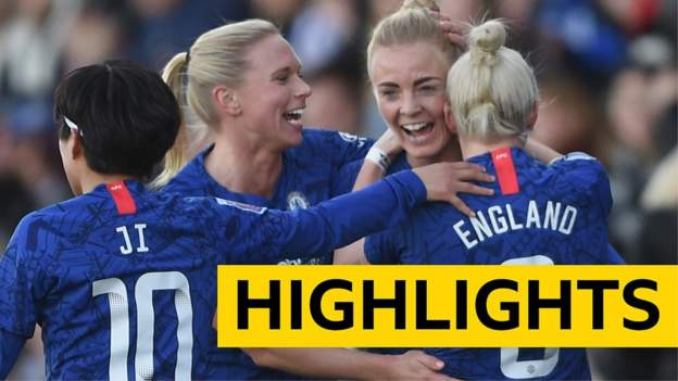 WSL Highlights: Arsenal Women 1-4 Chelsea Women thumbnail