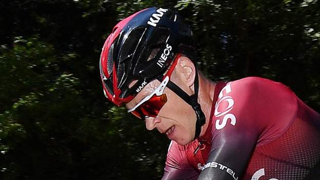 Bernal second with Froome well behind