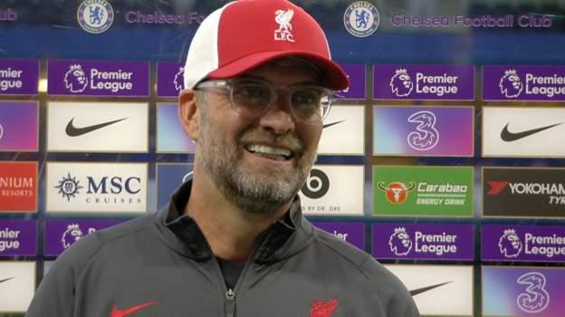 Chelsea 0-2 Liverpool: Klopp happy with