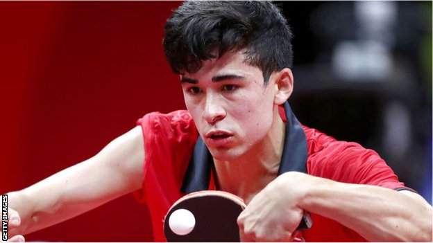 British Para table tennis player Kim Daybell
