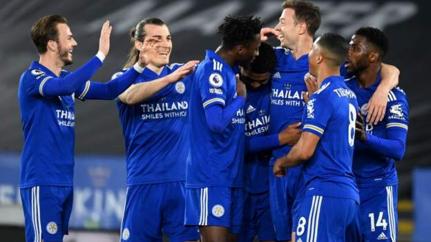 Leicester 3-0 West Brom: Ruthless Foxes see off West Brom - bbc