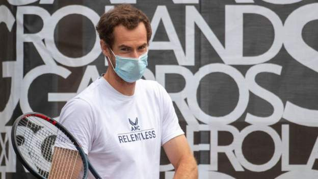 Andy Murray: Coronavirus test results slightly delayed French Open preparation