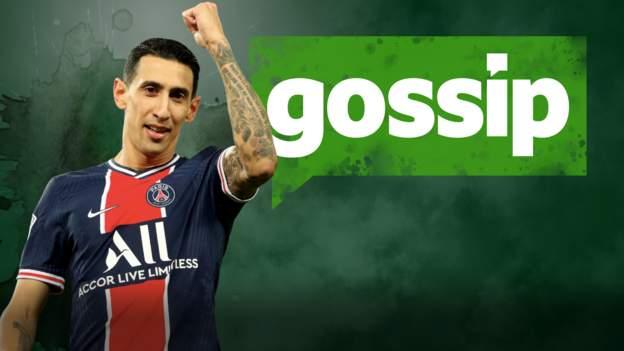 Transfer rumours: Di Maria, Upamecano, Garcia, Zirkzee, Tarkowski, Benteke - bbc