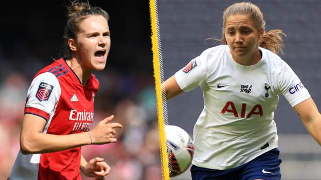 Women's FA Cup quarter-finals: Arsenal v Tottenham to be shown live on BBC Four