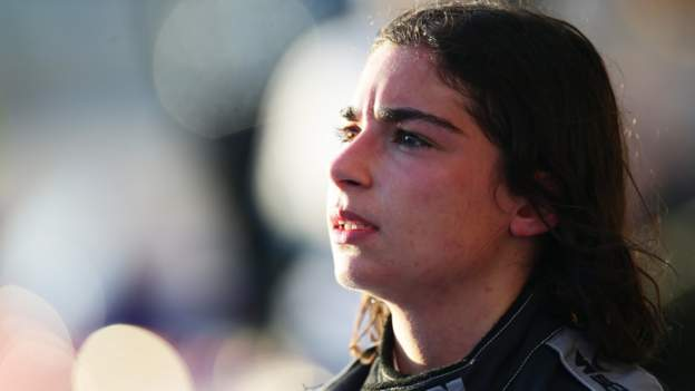 Jamie Chadwick: Formula 1 is a 'step closer' says driver after W Series win