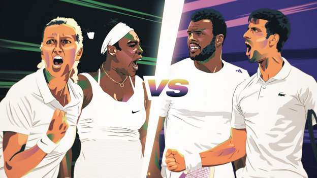 Wimbledon: Kvitova-Williams v Tsonga-Djokovic - which is the most effective rally? thumbnail