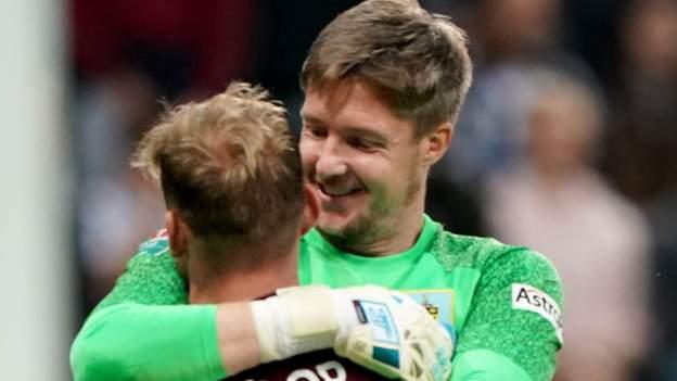 Newcastle United 0-0 Burnley (3-4 pens): Wayne Hennessey saves send Clarets through