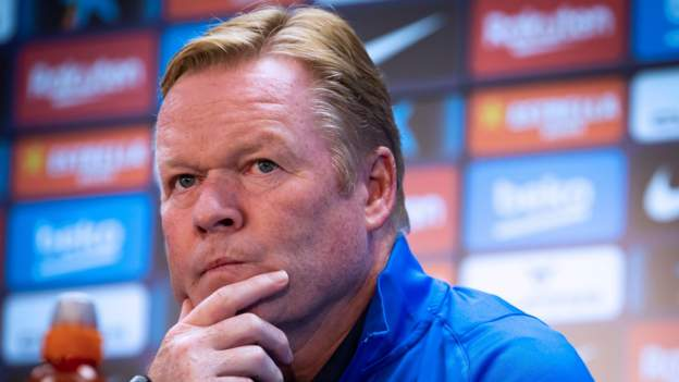 Koeman could not 'be under more pressure'