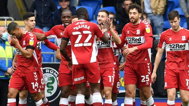 Cardiff City 0-2 Middlesbrough: Boro defeat ends Mick McCarthy tenure