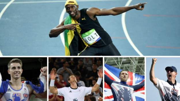 Rio Olympics: Usain Bolt wins; GB golds for Whitlock ...