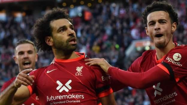 Mohamed Salah: Jurgen Klopp says Liverpool fans will remember goal v Man City in 60 years