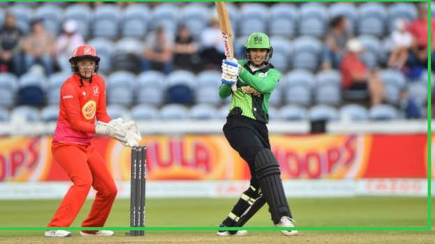 The Hundred: Smriti Mandhana secures victory for Southern Brave