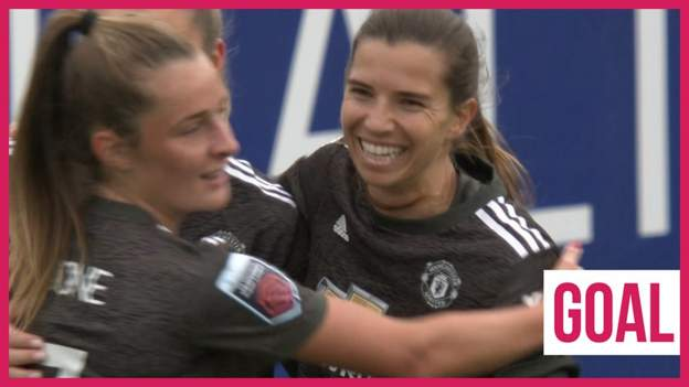 WSL: Tobin Heath doubles lead for Manchester United against West Ham