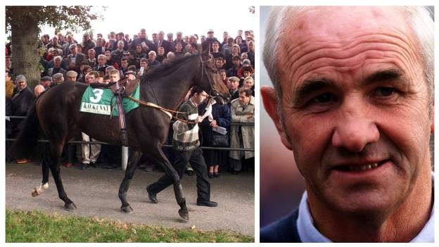 in_pictures Danoli and trainer Tom Foley