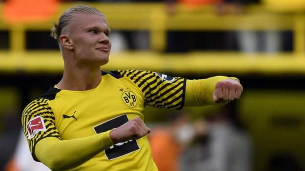 Borussia Dortmund 3-1 Mainz: Erling Braut Haaland scores twice on Dortmund return