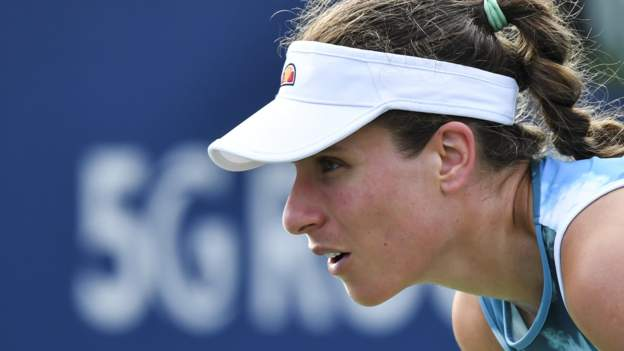 US Open 2021: Johanna Konta pulls out before first-round match