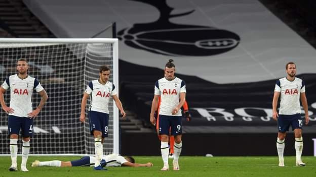 Jose Mourinho says Tottenham were