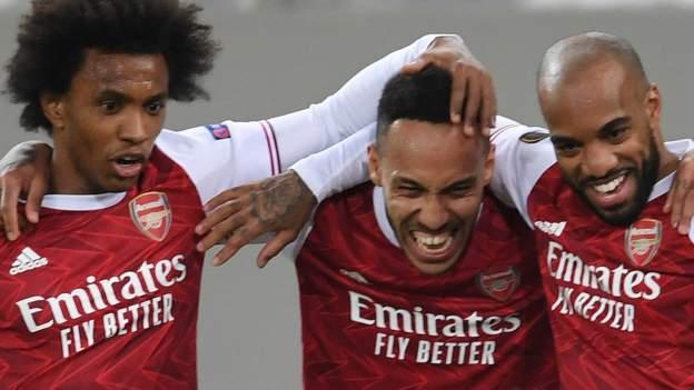 Has Aubameyang saved Arsenal's season?