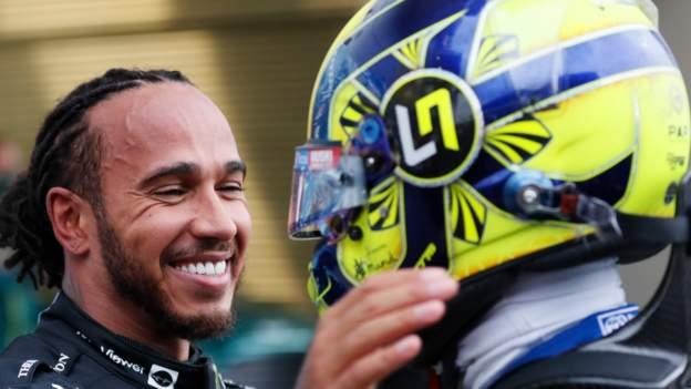 Hamilton takes 100th win in Russia