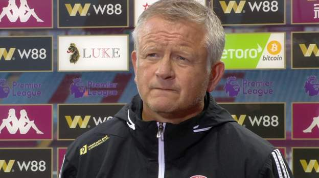 Aston Villa 0-0 Sheffield United: Chris Wilder 'frustrated' with goal-line technology thumbnail