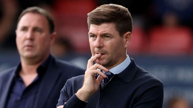 Steven Gerrard: Rangers manager hails club unity during Covid absences