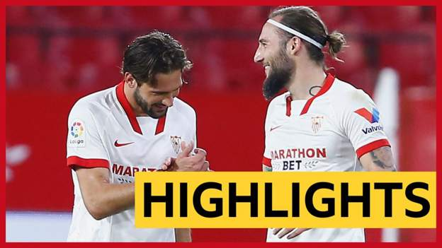 La Liga: Franco Vazquez scores cheeky backheel goal as Sevilla beat Elche
