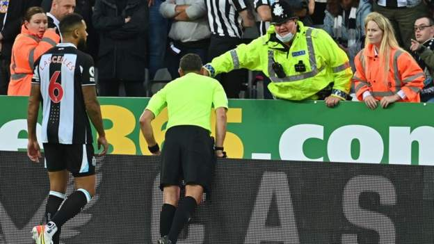 Newcastle-Tottenham game halted because of medical emergency in crowd