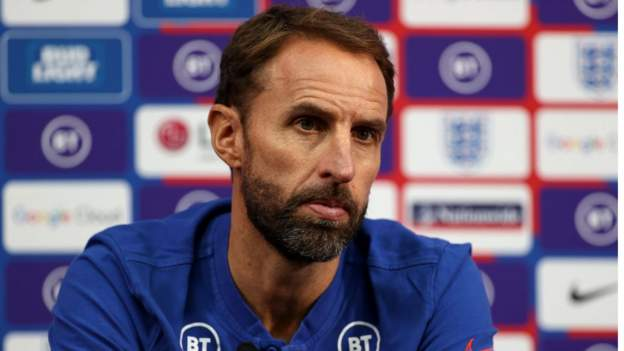 Gareth Southgate says England must look at themselves before judging other countries' behaviour thumbnail