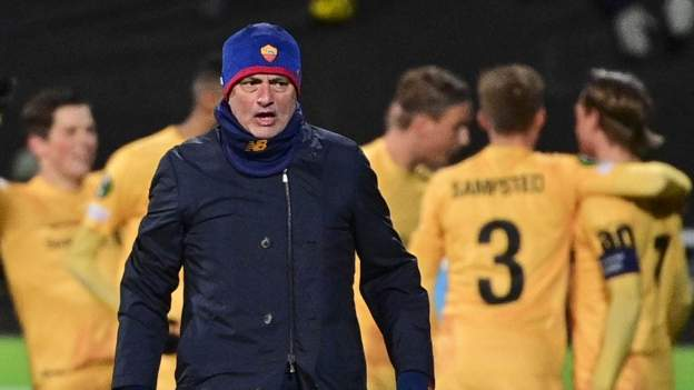 Bodo/Glimt 6-1 Roma: Jose Mourinho's side suffers surprise heavy defeat