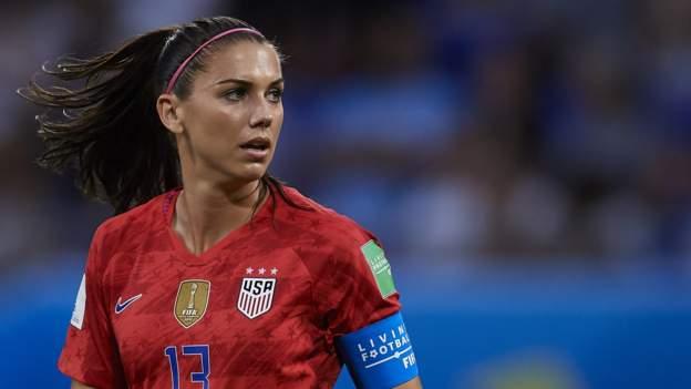Alex Morgan Tottenham Hotspur Women Sign United States Forward Bbc Sport
