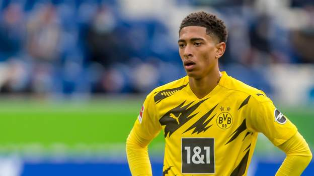 Jude Bellingham: Borussia Dortmund man becomes youngest English Champions League player - bbc