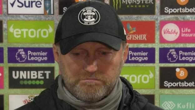 Southampton 1-3 Arsenal: Ralph Hasenhuttl bemoans Saints defending - bbc