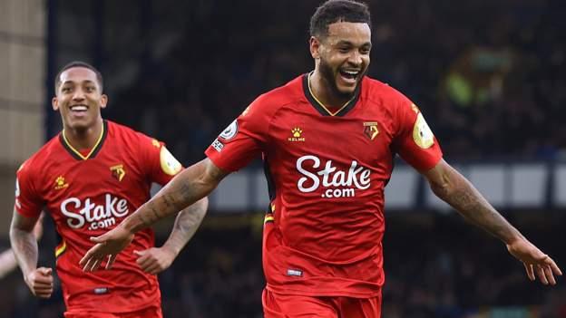 King hat-trick stuns Everton